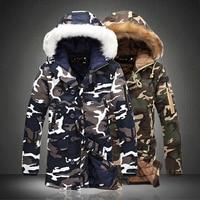 2016 Winter Camouflage Men S Warm Jacket Parka Brand Clothing Men Fashion Coat High Quality Leisure
