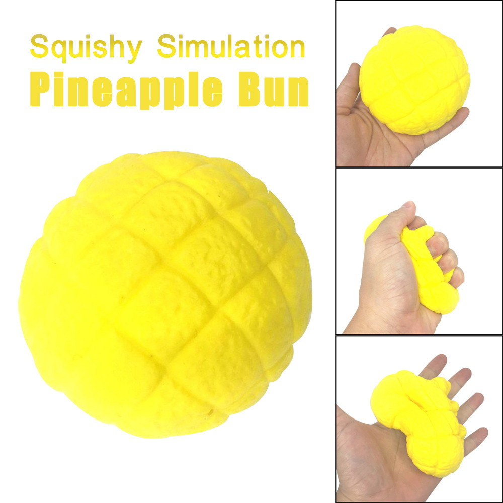 Simulation Pineapple Bun Scented Squishy Super Slow Rising Squeeze Kids Toy Gift Education Toy Baby Toys & Games Children