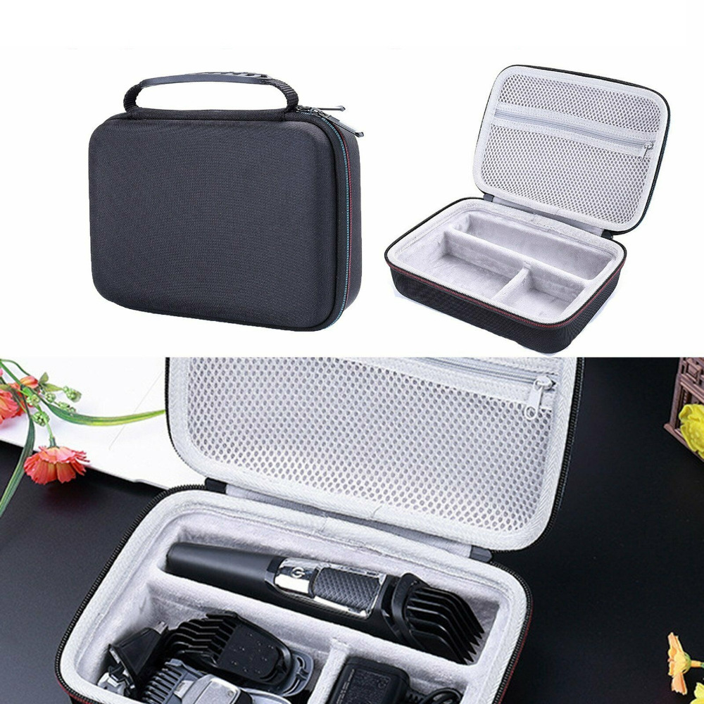 Brand Men's Razor Hard Travel Box Cover Bag For Philips Norelco Series 3000/5000/7000 MG3750 MG5750/49 MG7750/49 Zipper Pouch