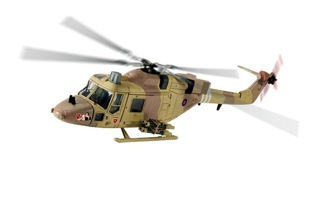 Корги 1/72 Британской Армии Lynx Вертолет Модели Lynx AH1G Gulf War AA39006 Редкая коллекция модель