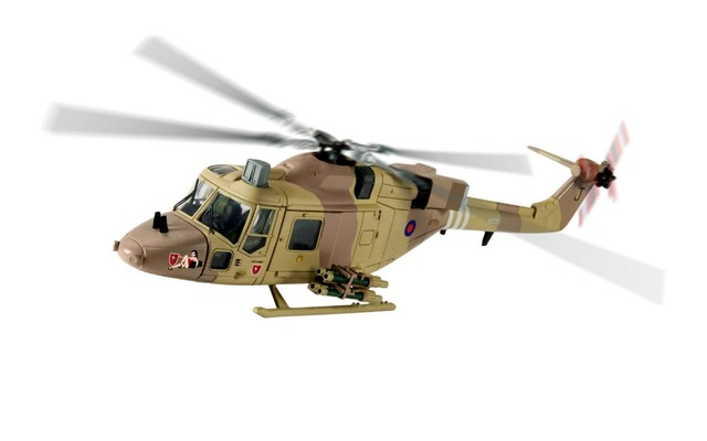 Corgi 1/72 British Army Lynx Helicopter Model Lynx AH1G Gulf War AA39006 Rare collection model
