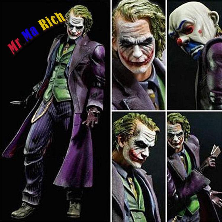 Jouer Arts Kai Le Joker Le Dark Knight Rises No 04 Action Figure Figuren DansJouer Arts Kai Le Joker Le Dark Knight Rises No 04 Action Figure Figuren Dans