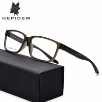 HEPIDEM TR90 Square Glasses Frame Men Optical Frame Eyewear Prescription Woman Sports Outdoor Ultra Light Eyeglasses