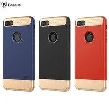 Для iPhone 7 Case Крышка Baseus Марка Taste Case Полный Охват Противоударный ТПУ + PC Защитный Комбинация Case