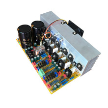 цена на Original USA imports hifi 2.0 AMP, double channel hi fi, 600W high-power amplifier board, finished power amplifier board