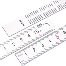 stainless ruler mapping With