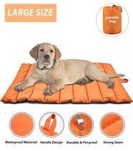 Cojín para perro al aire libre alfombrilla de gato portátil de viaje Cama grande para mascotas gran tamaño impermeable Casa de perro no pegajosa perrera suministros para mascotas