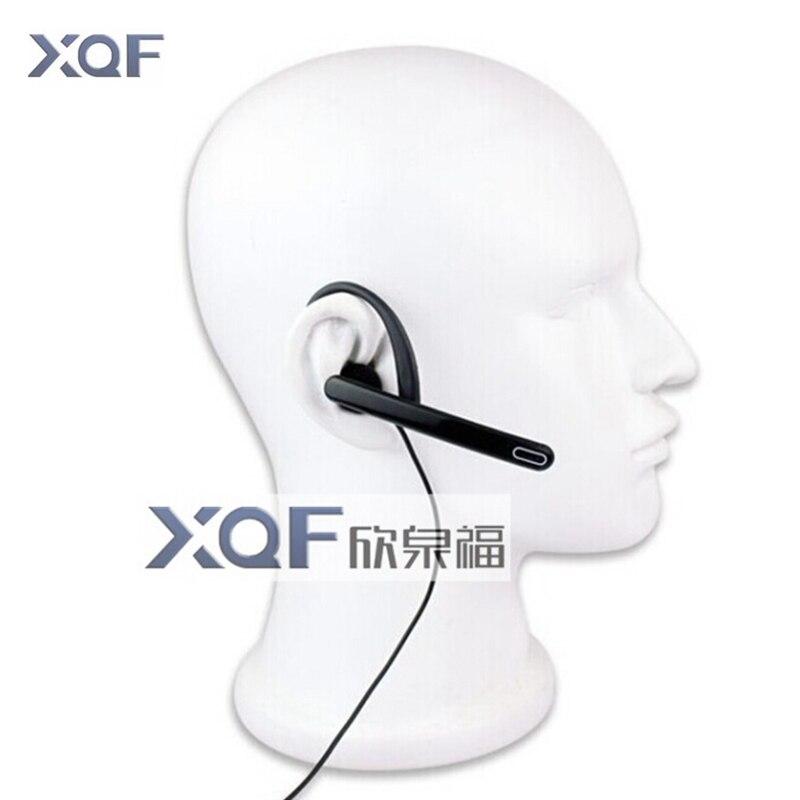 Neue Ohr Stange Kopfhörer Großen PTT Hörer Mic Taktische Kopfhörer Für Linton Kenwood Puxing Baofeng Radio