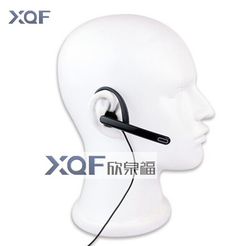 New Ear Rod Headphones Big PTT Earpiece Mic Tactical Earphone For Linton Kenwood Puxing Baofeng Radio