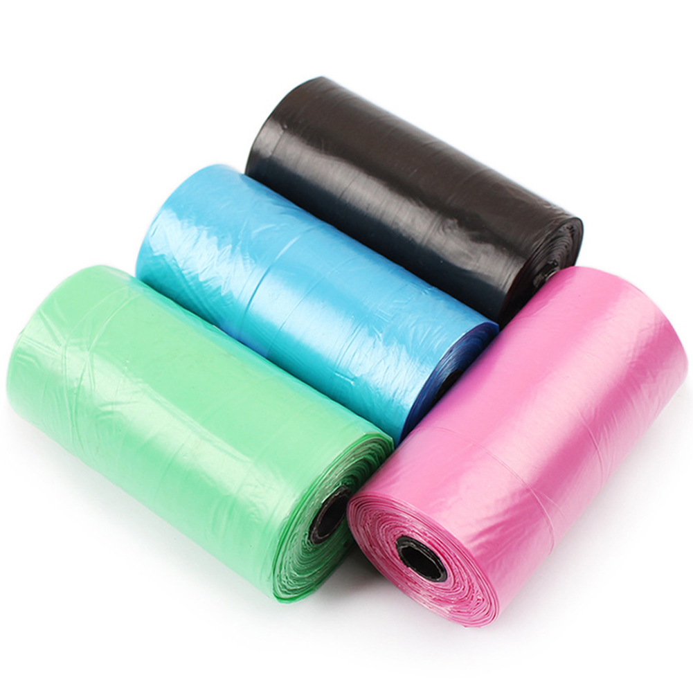 20 pcs/roll Biodegradabile Sacchetto di Cacca di Cane del Gatto Dell'animale Domestico Dei Rifiuti Poop Clean Pick Up di Immondizia Ba