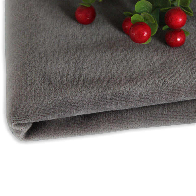 50 Cm * 160 Cm Korte Pluche Kristal Super Zachte Pluche Stof Voor Naaien Diy Handgemaakte Thuis Textiel Doek Voor speelgoed Pluche