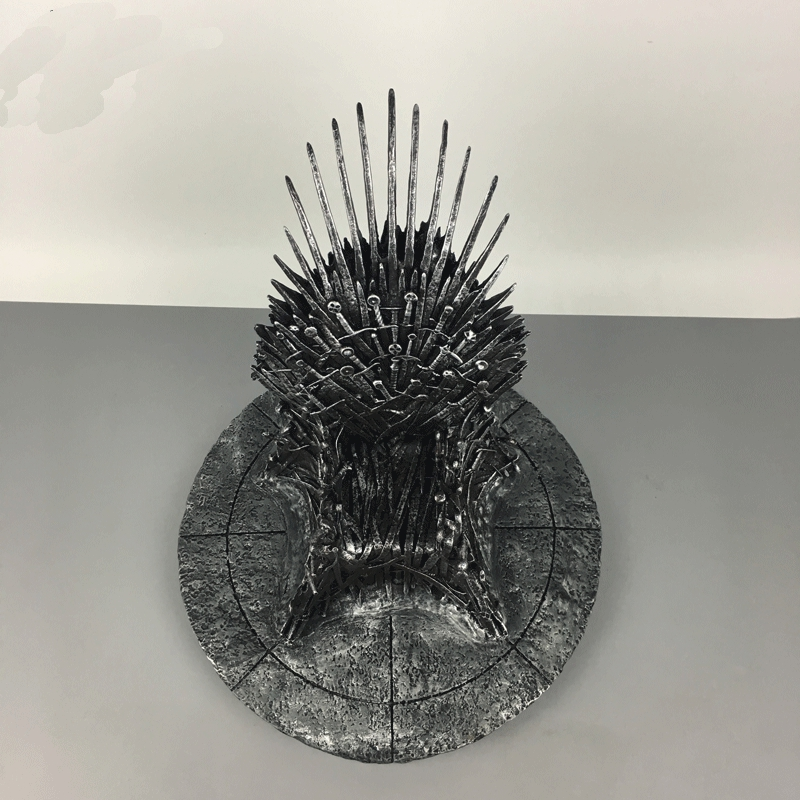 17cm The Iron Throne Game Of Thrones A Song Of Ice And Fire Figures Action & Toy Figures 17cm the iron throne game of thrones a song of ice and fire action figure toys sword chair model toys chirstmas gift