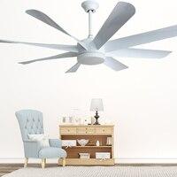 Eusolis Acht Bladeren 58 Inch Amerikaanse Industrial Ceiling Fan With Lights Ventiladores De Techo Con Luz Y Mando Remoto