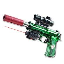 CSgame Infrarouge Balle de L'eau M92 Fusils Jouets de noël cadeau enfant Pistolet À Air Vert Sports & Entertainment Cosplay Airsoft Pistolet À Air drôle