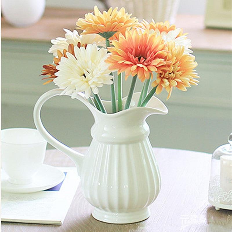 Floace 10 unids / lote floreciente colorido gerbera flores - Para fiestas y celebraciones - foto 3
