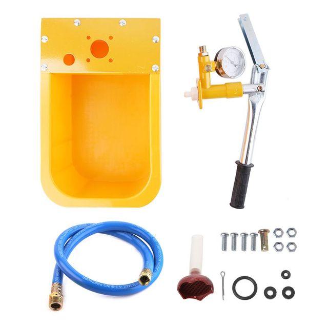 Probador de presión de agua bomba 2.5MPa probador de tuberías 25 KG Manual bomba de probador hidráulico