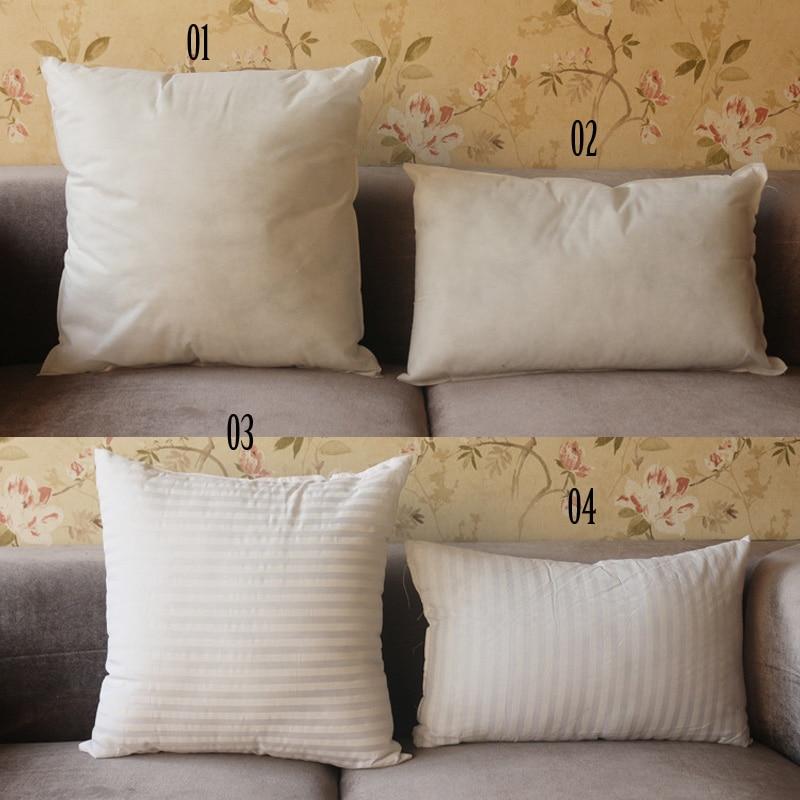 Home Decor Soft Non Woven Polyester Cushion Core Pillow