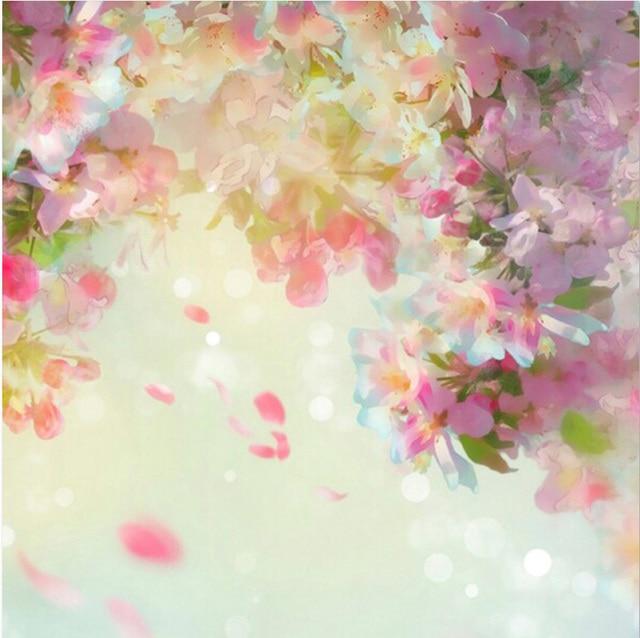 10x10ft spring bokeh light pink flowers blossom branch petals sky 10x10ft spring bokeh light pink flowers blossom branch petals sky custom photo backdrop studio background vinyl mightylinksfo