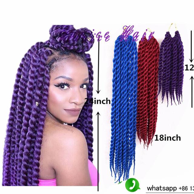 Swell Aliexpress Com Buy Havana Mambo Twist Crochet Hair Crochet Latch Hairstyle Inspiration Daily Dogsangcom
