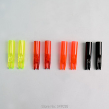 50 pcs 6075 arrow nock for 6mm O.D. shaft hunting for hunter knock archery bow Free shipping
