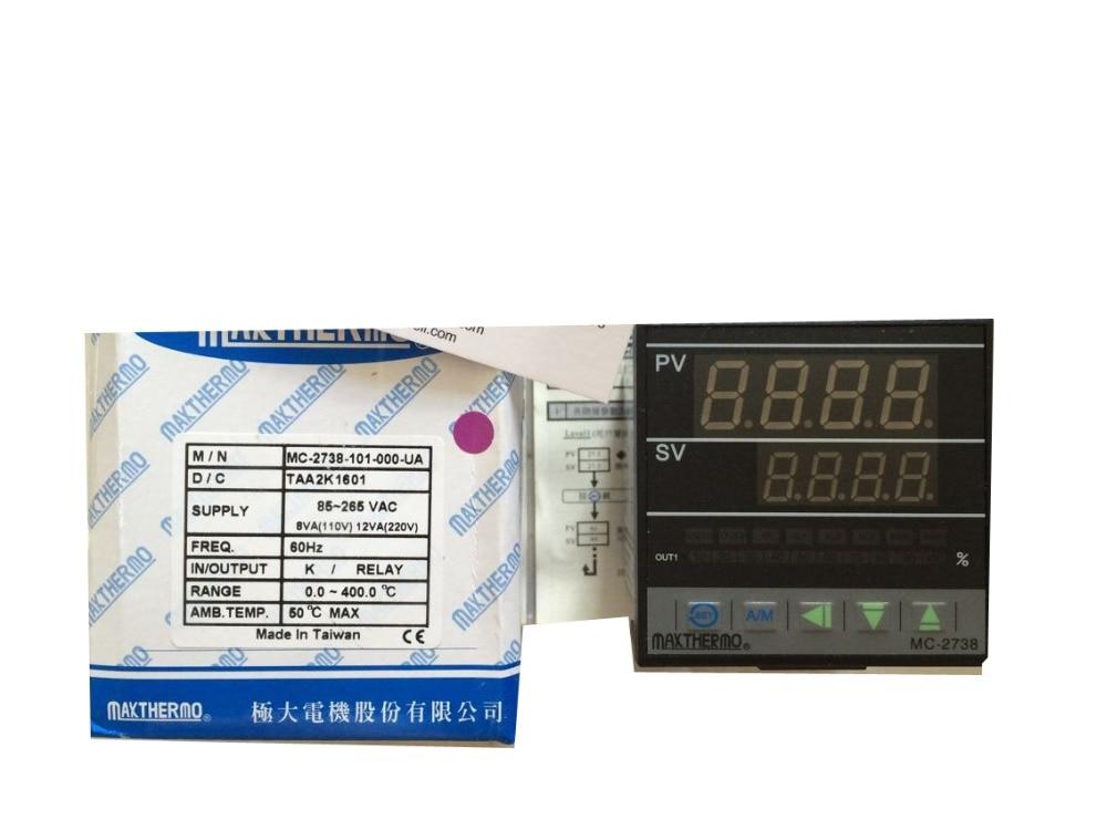 Original Taiwan   Temperature Controller MC-2738 RELAY OUT PUT Original Taiwan   Temperature Controller MC-2738 RELAY OUT PUT