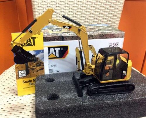 Cat 308E2 CR SB Mini Hydraulic Excavator Metal 1:32 By DieCast Masters #85239 цены