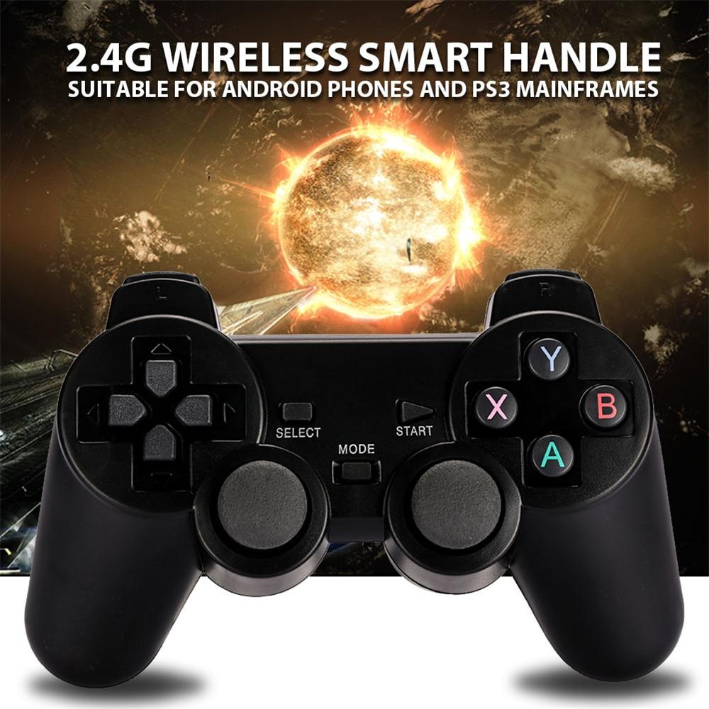 Vibration Joystick Wireless Gamepad PC Für PS3 PS4 Android Telefon TV Box Joystick 2,4G Joypad Game Pad Für PC xiaomi Für Vista