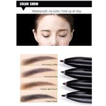 4-color In 1 Hard Head Eyebrow Tattoo Pen Liner Makeup Eyebr