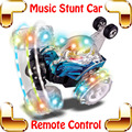Nueva Venida de Regalo RC Coche Del Truco Música Camión de Carreras de Coches Juguetes de Control remoto de Volcado de Baile Eléctrico Máquina de Velocidad de Vehículos Off-road coche