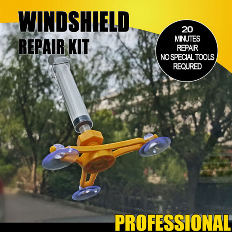 Enhanced Car Windshield Repair Tool Kits Auto Glass Windscreen Instrument Repair DIY Glass Repair Tool Sets Auto Accessories