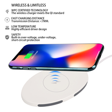 NEW QI For iphone X 8 Mobile Phone Fast Wireless Charger power bank Multi Three Coil Wireless Charger Available for Samsung цена в Москве и Питере
