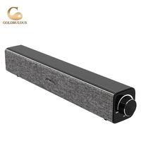 Goldbulous Wireless Bluetooth Speaker Portable Sound Bar Speakers 20W With Super Bass For Phone Computer MP3