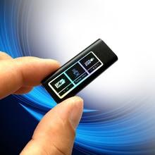 Mini grabadora de voz Digital Global, el más pequeño con batería de ion de litio integrada, reproductor MP3 digital, SK892
