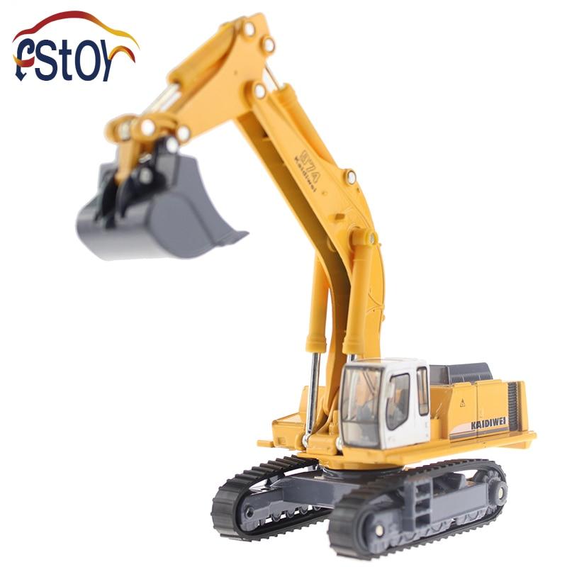 Metal Alloy Diecast Toy Excavator Truck Model R 964C Litronic Model 1 87 Capterpillar Navvy Engineering