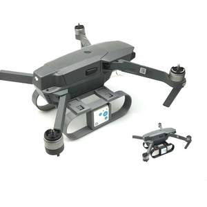 Image 1 - Extension Heightened Landing Gear RF V16 GPS Tracer Locator Holder Camera gimbal protection For DJI MAVIC pro drone Accessories