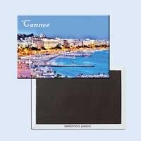 Cannes (Canas) auf die Französisch Riviera Kühlschrank Magneten 21673 Resort Souvenir