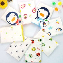 11Baby Burp Cloths Organic cotton gauze Muslin activity baby bib bandanas Baby Bibs soft breathable Newborns Towel scarf(China)