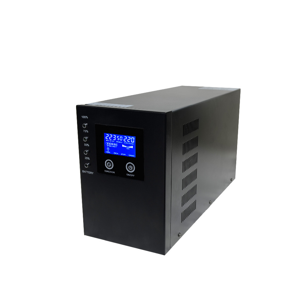 Line Interactive Pure Sine Wave 2KVA 2000VA Home Emergency UPS Inverter Without Battery 2kva 2000va 1600w smart lcd display pure sine wave line interactive ups industrial power supply