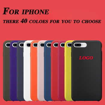 Original with logo Official for apple silicone case for iPhone X XR XS MAX funda Cover Bag coque luxury case чехол на айфон хр