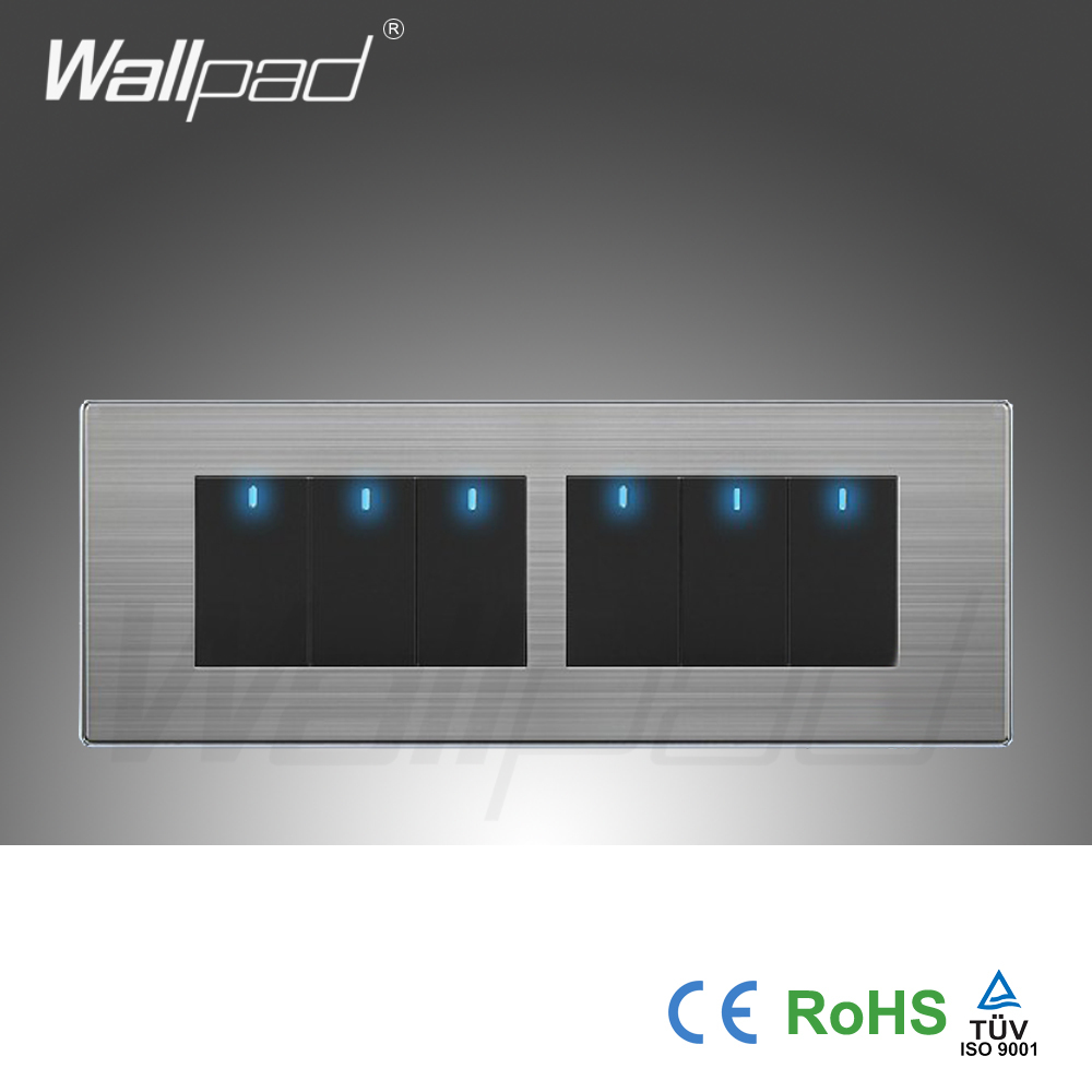Detail Feedback Questions About Wall Light 6 Gang 2 Way Switch Hot For Sale China Manufacturer Wallpad Push Button One