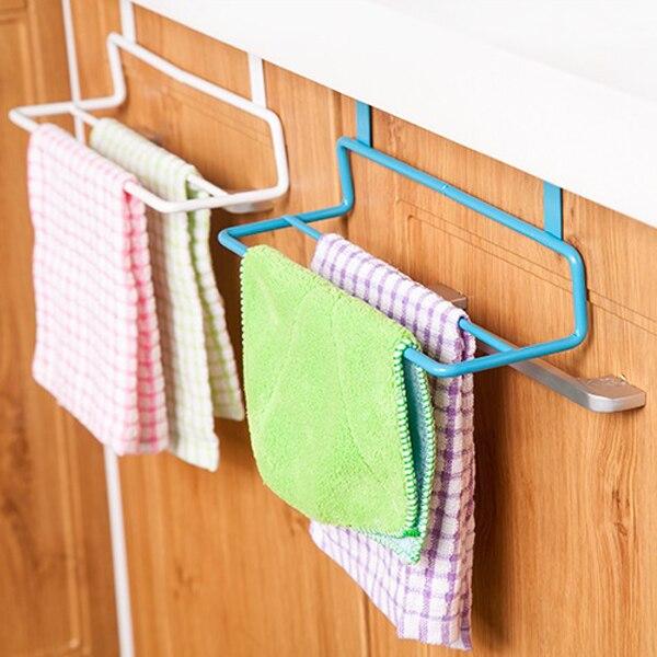 NIEUWE Metalen Handdoek Opknoping Rack kastdeur handdoek haak - Home opslag en organisatie
