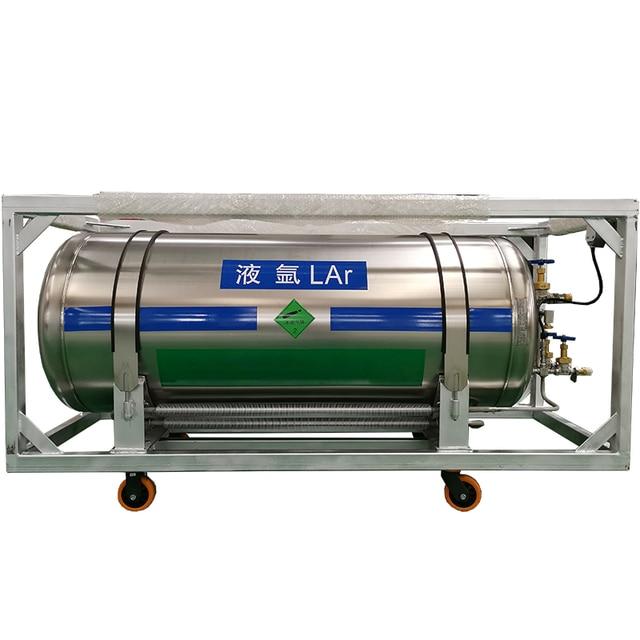 175L cryogenic liquid cylinder LN2/LAR/LO2 dewar/gas cylinder storage tank for sale