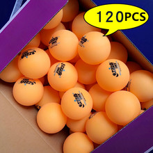 120 balls DHS table tennis ball 1 star d40+ without box orange training ABS seamed poly plastic ping pong