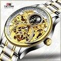 Горячая Tevise бренд Мужские механические часы Автоматическая Дата парусник часы Мода Бизнес человек водонепроницаемые золотые часы Montre Homme