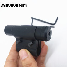 Hunting Tactical Red Dot Laser Sight Scope With Mount for Pistol Picatinny Rail and Rifle Hunting Optics shooin red fiber optics 8x40 eyepiece focus rifle scope m5322