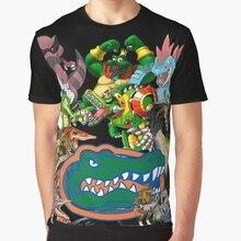sports shoes 6b371 53439 All Over Print 3D Women T Shirt Men Funny tshirt University of Florida Gator  Gamer Shirt