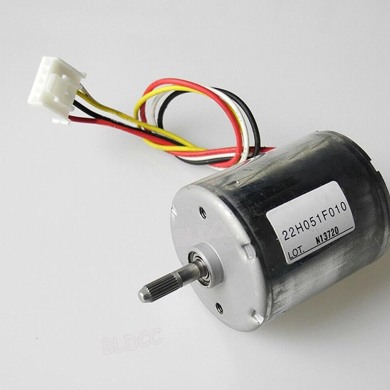 12V-24V 22H051F Brushless DC Motor Dual Bearing Inner Drive High Speed Torque 1-50 kHz PWM BLDC Motor Electrical Equipments