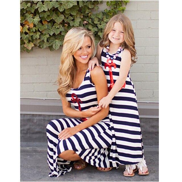 New Toddler Girl Dresses Striped Enfants Vetements Fille Mon And Girls Dress Vetement Fille Cool Infant Girl Dresses