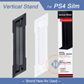 Hot new 1 unids para sony ps4 playstation 4 slim consola delgada soporte vertical mount holder muelle ps4 accesorios delgado