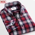MJX2017 men wear Mao Gezi autumn long-sleeved shirt business casual shirt wild